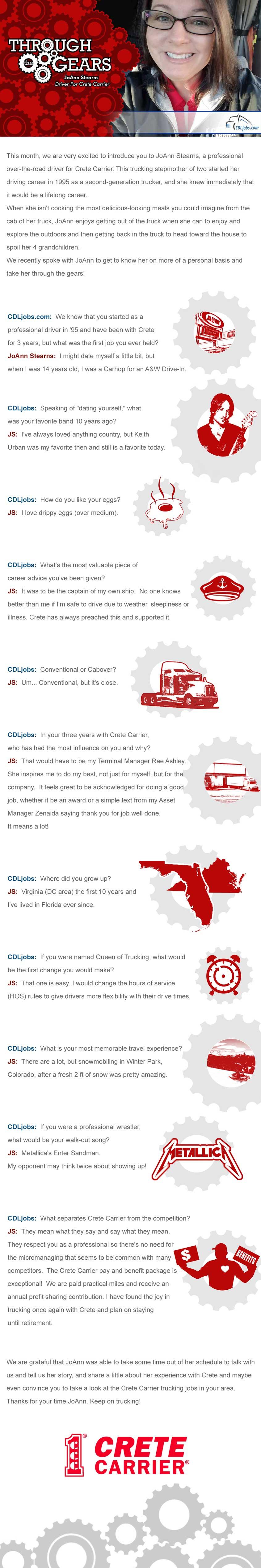 crete carrier trucking jobs