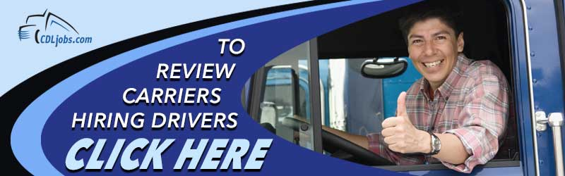 Trucking Companies View Carriers Using CDLjobs.com