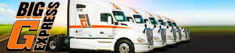 Big G Express | Truck Driving Jobs
