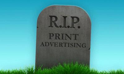 RIP Print Advertising | Marketing for Truck Driving Jobs