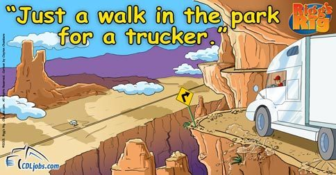 Truckers Walk In The Park | CDLjobs.com