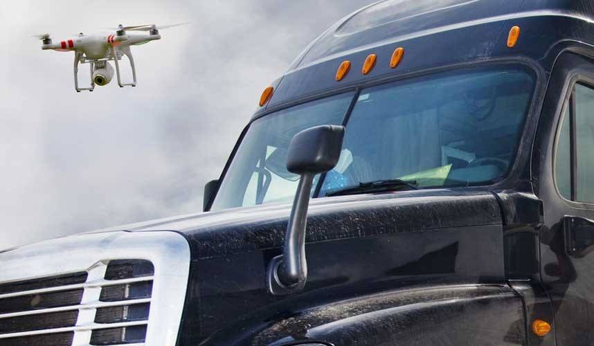 Drones and the Trucking Industry