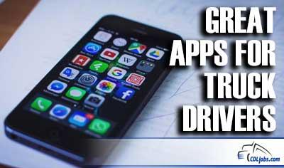 Apps for Truck Drivers | CDLjobs.com