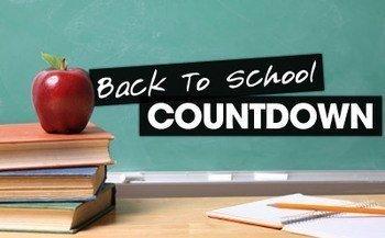 Back To School Countdown | CDLjobs.com