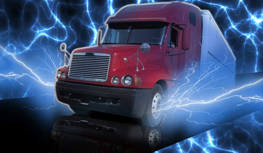 Is All-Electric Long-Haul Trucking Possible?