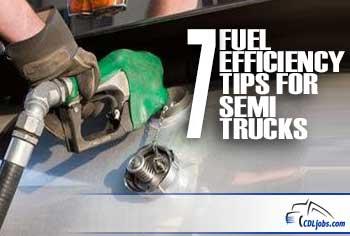 Fuel Efficiency | Tips for Truckers