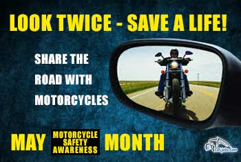 Motorcycle Safety for Truck Drivers   CDLjobs.com