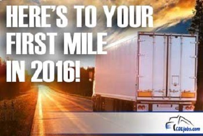 New Years Resolutions for Truckers