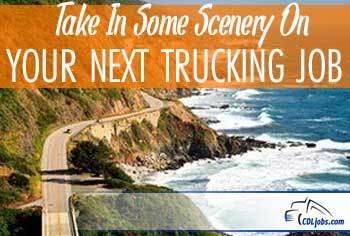 Scenic Highways   Enjoy Truck Driving Jobs