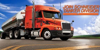 Schneider Tanker Division | Apply For CDL Jobs