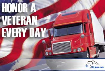 Veterans Day Salute | CDLjobs.com